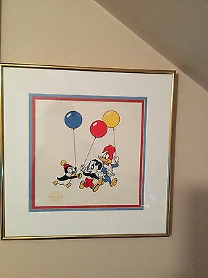 Woody Woodpecker-Chilly Willy-Andy Panda  Walter Lantz  Serigraph SO NICE