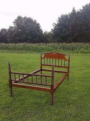 Jenny Lind Antique Spool Bed Early American Bed