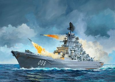 """Revell Models 1/700 Russian Nuclear-Powered Missile Cruiser """"Petr Velikiy"""""""