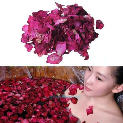 140g Dried Rose Petals Bath Tools Natural Dry Flower Petal Spa Whitening Shower