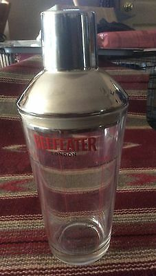 Beefeater Martini Drink mixing glass w/ stainless top