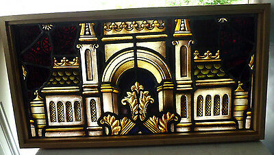 Antique Church Stained Glass Window Architectural Salvage Innsbruck Austria W197
