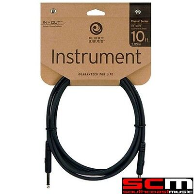 DADDARIO PLANET WAVES CLASSIC GUITAR CABLE 10 PW-CGT-10 10ft LEAD BRAND NEW