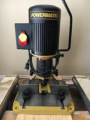 """Powermatic Mortiser with 1/4"""" 3/8"""" and 5/16"""" Chisels"""