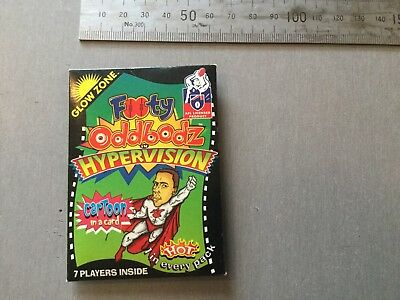 Footy Oddbodz AFL Hypervision Packet And Cards