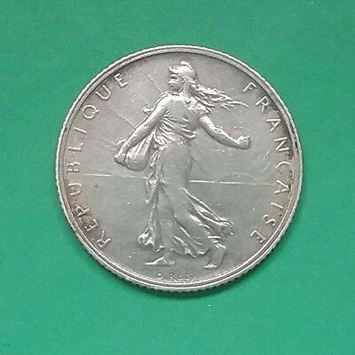 France 1915 One Silver Franc