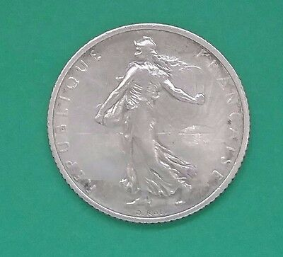 France 1916 One Silver Franc