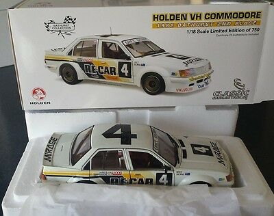 1/18 holden 1982 2nd place vh commodore