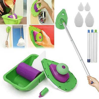 Point And Paint Roller and Tray Set Household Painting Brush Decorative Tools D)