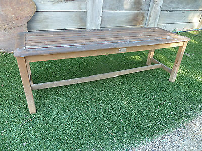 FSC Wooden outdoor bench, lot 410, Pick up Langwarrin 3910