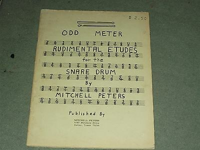 ..rudimental Etudes, For Snare Drum..peters.drums