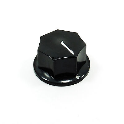 6mm MF-B03 Plastic Bakelite Knob with Volume Control for Potentiometer 33mm
