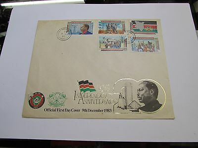 1983 Kenya FDC NO ADDRESS