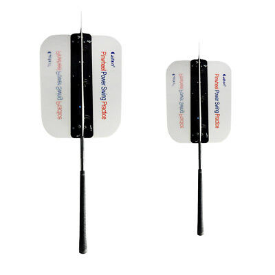 Golf Swing Power Fan Golf Trainning Aids Practice Guide Trainer Two Sizes