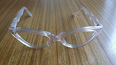 Vintage Girls Reading Glasses - 1950s Pink Cats Eye Frames - Made In France