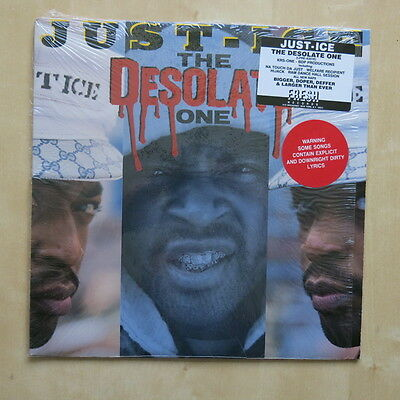 JUST ICE The Desolate One USA vinyl LP Fresh Records LPRE-82010 1989