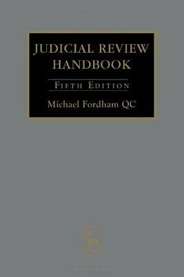 Judicial Review Handbook 2008 by Michael Fordham Hardback Book The Cheap Fast
