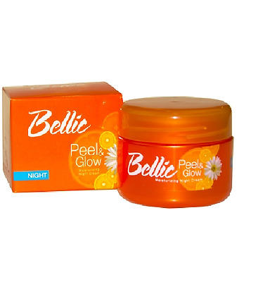 Wholesale (5Pack) Bellic Peel and Glow Moisturizing Night Cream with Kojic Acid