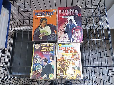 PHANTOM WEIRD TALES #14 05/1958-Detective Monthly May 1958 plus more