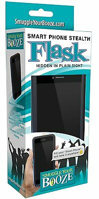 Smuggle Your Booze Smart Phone Stealth Flask