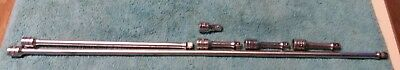 "snap on tools large lot 3/8"" dr 6pc extensions FX1 FX2 FX11A FXW24"