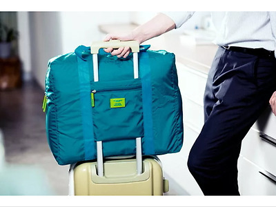 GREEN Carry-on Airport Luggage Waterproof Space Saver Foldable Bag