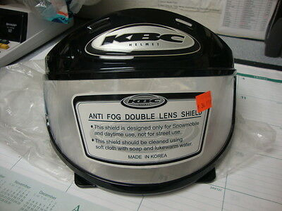 New,Old Stock KBC Anti Fog Double Clear Lens Shield ~ # TK-77
