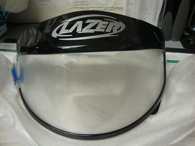 New,Old Stock Lazer Clear Blizzard Double Lens Shield ~ # LH-0222