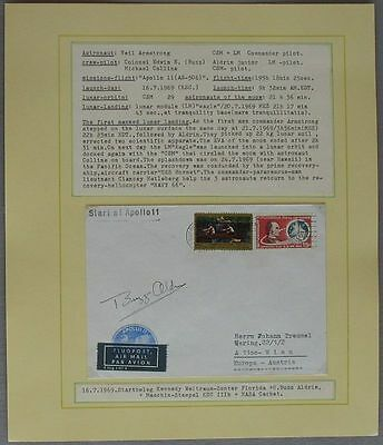 s1221) Raumfahrt Space Start of Apollo 11 KSC 16.7.1969 - Autograph Buzz Aldrin