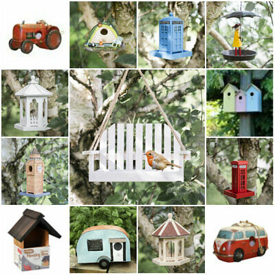 Traditional Novelty Hanging Bird Nesting Box Nest Boxes House Small Garden Birds