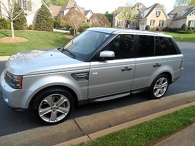 2010 Land Rover Range Rover Sport Supercharged 2010 Range Rover Sport