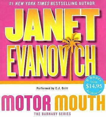 Barnaby and Hooker: Motor Mouth 2 by Janet Evanovich (2007, CD, Abridged)