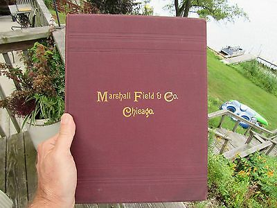 Original 1865 Marshall Field & Co. Chicago Illustrated Book Of Holiday Goods