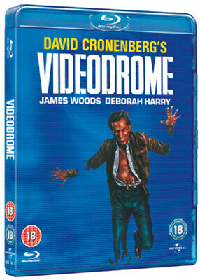 Videodrome Blu-ray (2011) James Woods, Cronenberg (DIR) cert 18 Amazing Value