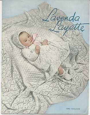 2 Vintage Knitting Pattern Baby Book Patons Layettes ...