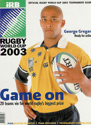 Rugby World Cup 2003 Official Tournament Guide