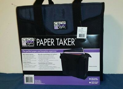 Crop In Style Paper Taker NWT