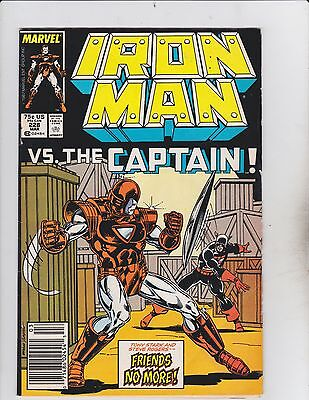 Marvel Comics! Iron Man! Issue 228! Great Looking Book!