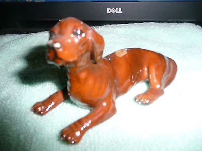 Vintage Dachshund by the Mortens Studio Dog Figurine ROYAL DESIGN