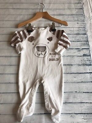 Unisex Baby Clothes Babygrows 0-3 Months- Cute  Babygrow Sleepsuit