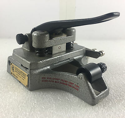 Professional CATOZZO 16MM FILM SPLICER Works Great!