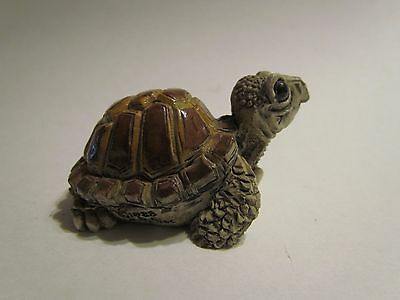 Stone Critter Hand Crafted Turtle
