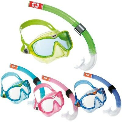 Aqualung Set Reef DX Junior COMBI MIX hochwertiges Masken Schnorchel Set Kinder