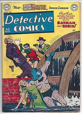 Detective Comics #154 (Dec. 1949 DC) VG 4.0