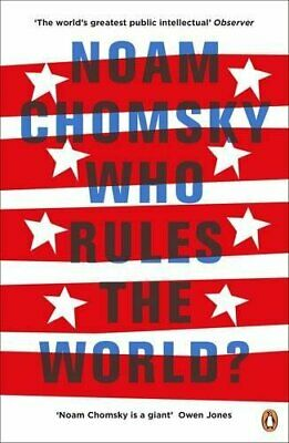 Who Rules the World? by Chomsky, Noam Book The Cheap Fast Free Post