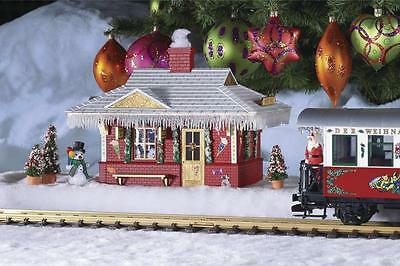 Piko G Scale North Pole Station Built Up | Ships In 1 Business Day | 62265