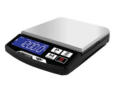 My Weigh Digital Scale 1200g x 0.1g Table Top AC Adapter i1200 iBalance Compact