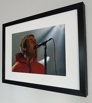 Liam Gallagher Photo-Luxury Framed-Oasis-Stone Roses-Noel Gallagher-Ian Brown