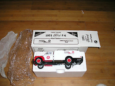 First Gear 1951 FORD F-6 FUEL TANKER Texaco 1994 Employee Issue very limited