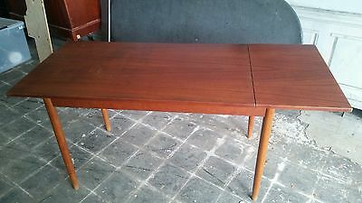 Mid Century Danish Modern Teak Dining Table Mcm